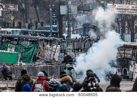 Protest Against