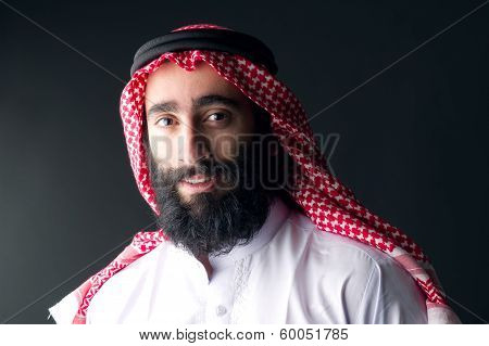 arabic businessman with beard