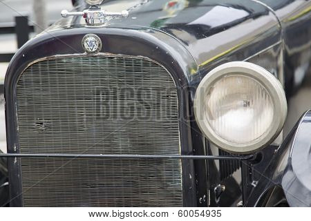 1924 Black Dodge Brothers Touring Car Grill