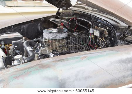 1950 Chevy Skyline Deluxe Engine