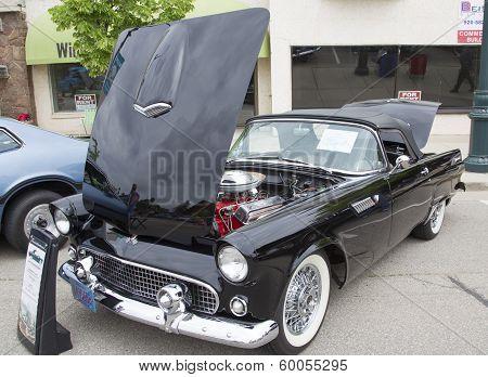 1955 Black Ford Thunderbird