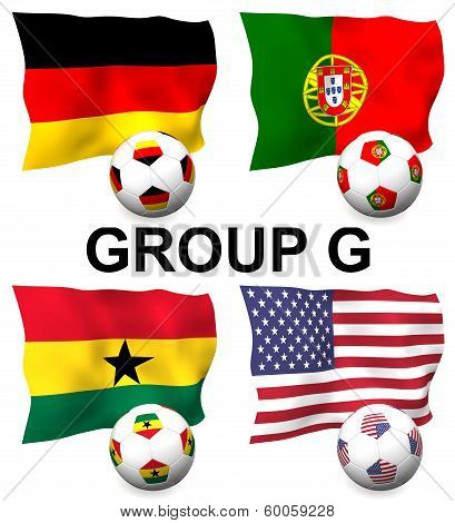 Group G Football