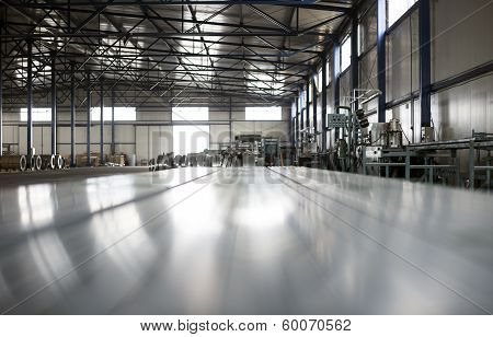 Sheet Tin Metal Production Hall