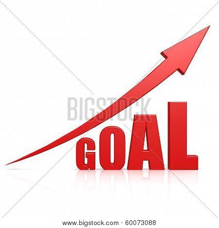 Goal Red Arrow