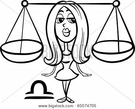 Libra Or The Scales Zodiac Sign