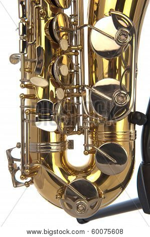 Tenor Sax Belly In Close Up