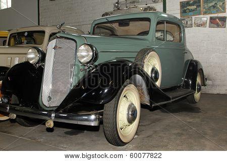 Vintage Car 1935 Chevrolet Coupe