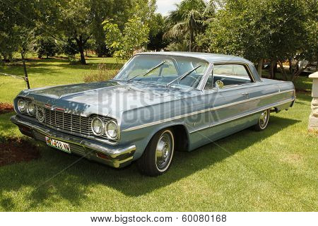 Vintage Car 1964 Chevrolet Impala Coupe