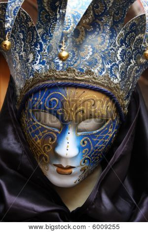 Traditional Colorful Venice Mask