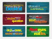 picture of sarcastic  - Set Of Typographic Backgrounds - JPG