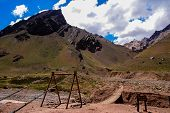 pic of aconcagua  - Argentina National Park - JPG