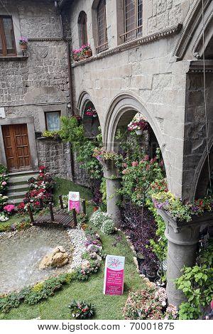 Viterbo, Italy, May 4, 2014: Exhibition