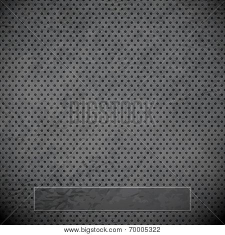 Black Metal Grid