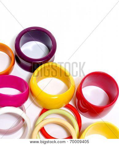 Fashion colorful bangles