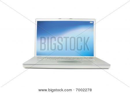 Modern Silver Laptop