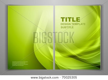 Green Business Front and Back Flyer Template