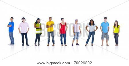 Group of People Standing