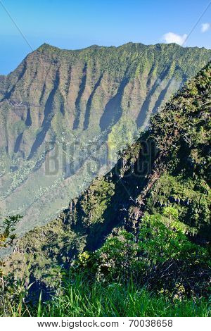 The Cliffs of Na Pali