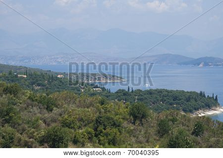 Corfu and Albania