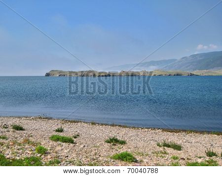 Nature Of Lake Baikal. The Lake Shore