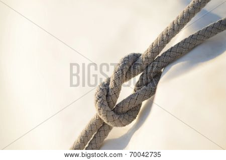 Reef Knot Or Square Knot, It Was Used By Sailors For Reefing Sails