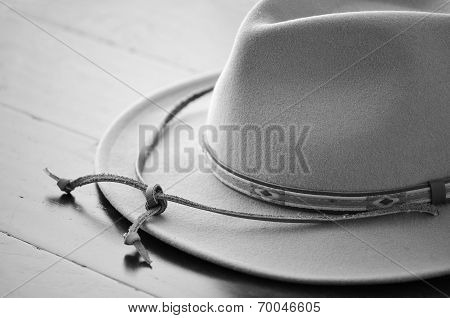 Cowboy Hat Black And White