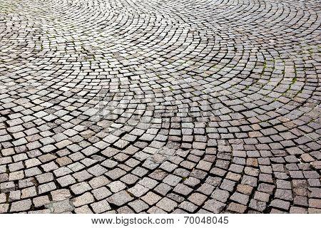 Old Cobble Stone Street