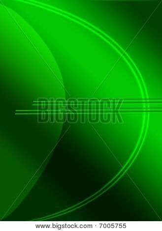 Abstract Simulation Of The Euro Symbol