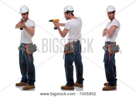Three Builder Photos