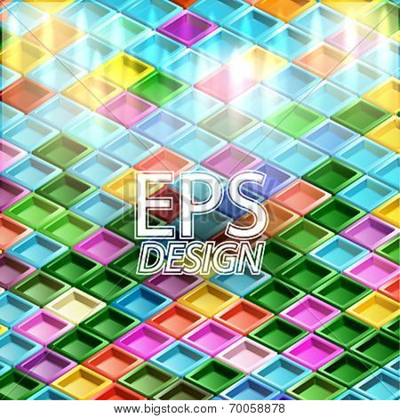 VECTOR ISOMETRIC BACKGROUND
