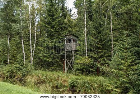 Watchtower To Protect The Forest Perimeter
