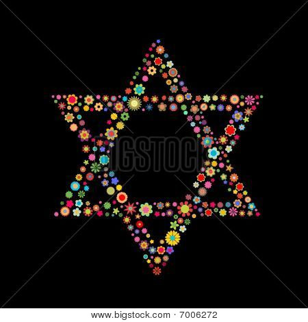 Star Of David Shape