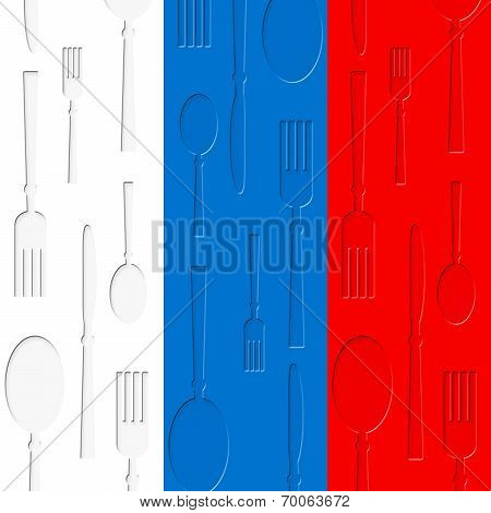 Russian Food Means Cafe Country And Foods