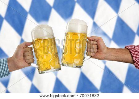 Cheers At The Oktoberfest