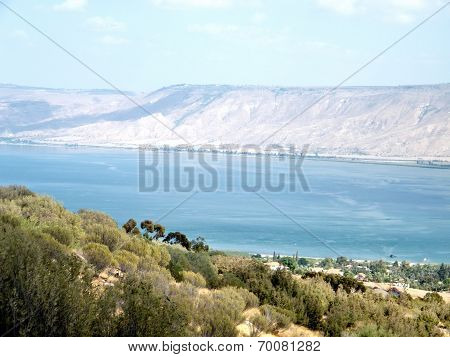Blue Sea Of ??galilee 2010
