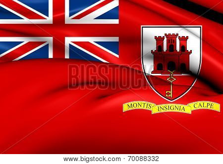 Civil Ensign Of Gibraltar