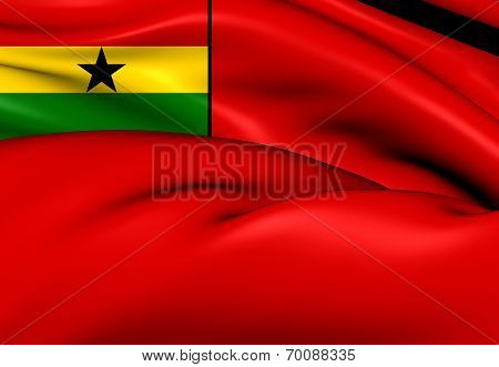 Civil Ensign Of Ghana