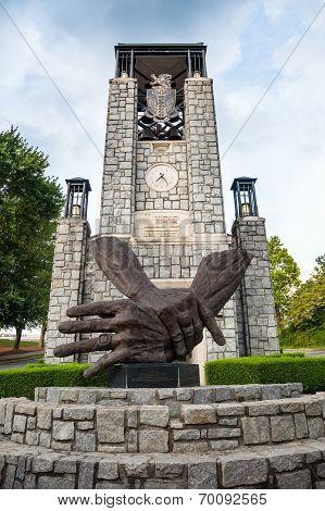 Entrance To Life University In Marietta, Ga