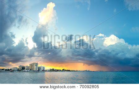 Stormy Sky Above Larnaca