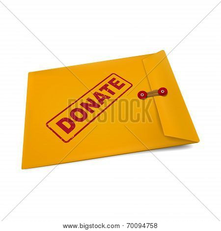 Donate On Manila Envelope