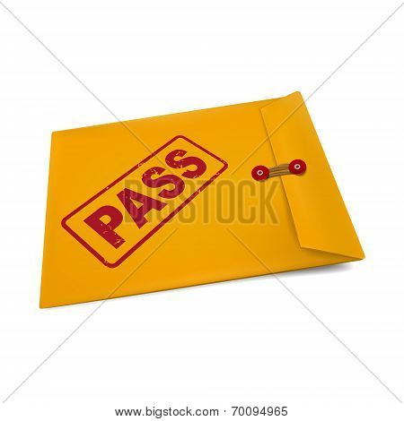 Pass On Manila Envelope