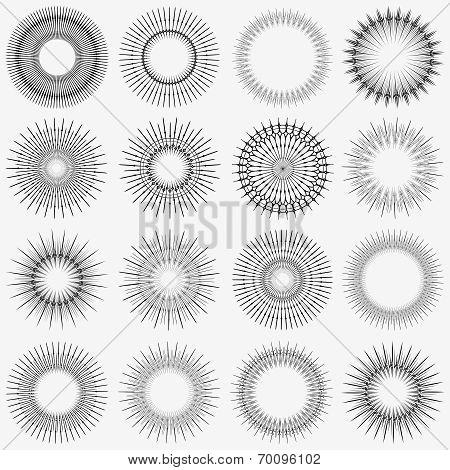 Radial Circle Element