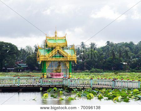 Buddhist Shrine In Myeik, Myanmar