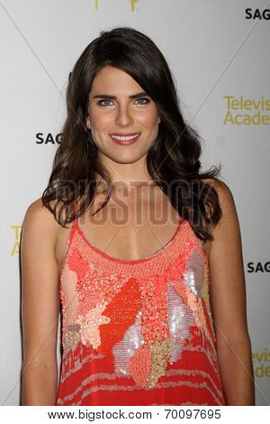 LOS ANGELES - AUG 12:  Karla Souza at the Dynamic & Diverse:  A 66th Emmy Awards Celebration of Diversity Event at Television Academy on August 12, 2014 in North Hollywood, CA