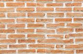 stock photo of arriere-plan  - A brick wall background and texture  - JPG