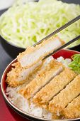 picture of pork cutlet  - Tonkatsu  - JPG