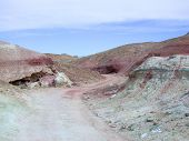 foto of off_road  - road in badlands near Grand Junction - JPG