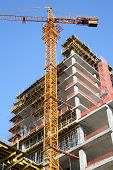 picture of high-rise  - Construction site - JPG