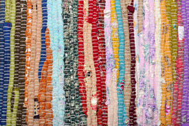 stock photo of scrappy  - fabric patchwork background - JPG