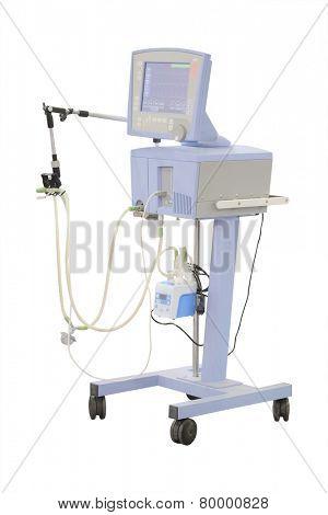 diagnostic apparatus under the white background